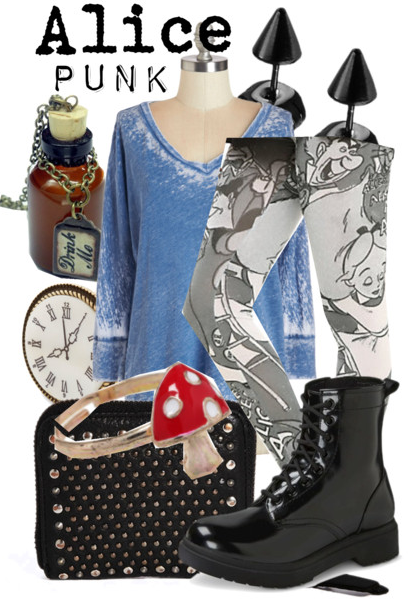 Alice in Wonderland Outfit, Disney Fashion