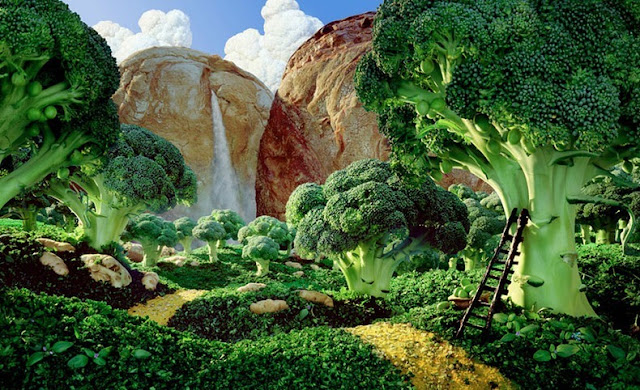 Foodscapes by Carl Warner