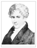 unica foto ou imagem do matematico noruegues Niels Henrik Abel