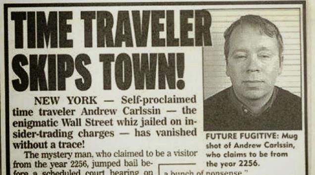 Time Traveler Skips Town News Clip - Viajero del tiempo que pasó 2 años en el futuro cuenta como es todo en el años 2749