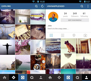 Instal Instagram di Android