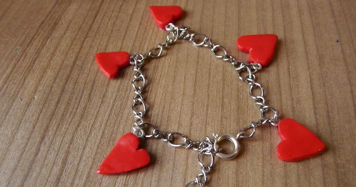 Les cr as tutos tuto fimo comment faire un coeur - Comment fabriquer un coeur ...