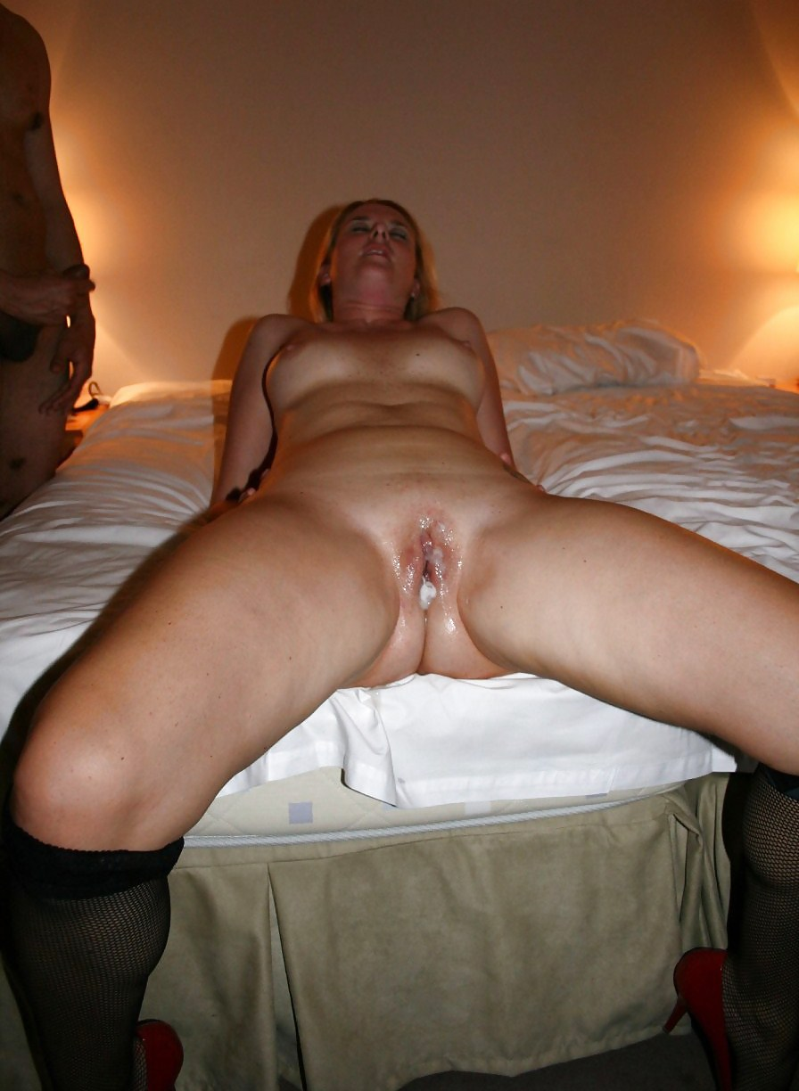 Sweaty pussy eating wife