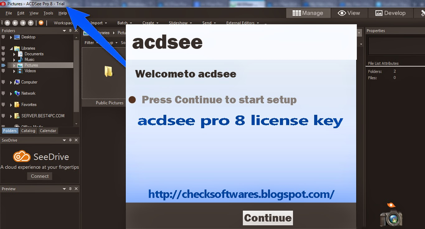 Acdsee Pro 8 License Key Crack Software Download Serial Number