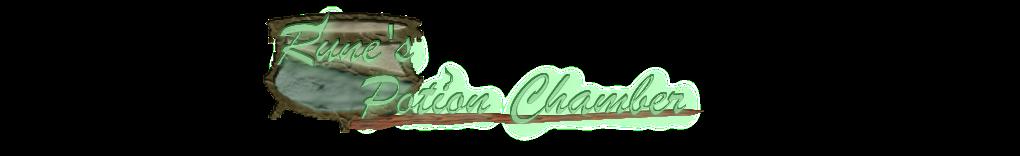 Rune's Potion Chamber Blog