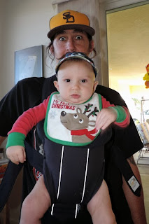 Reef Indy loves his BABYBJÖRN Baby Carrier