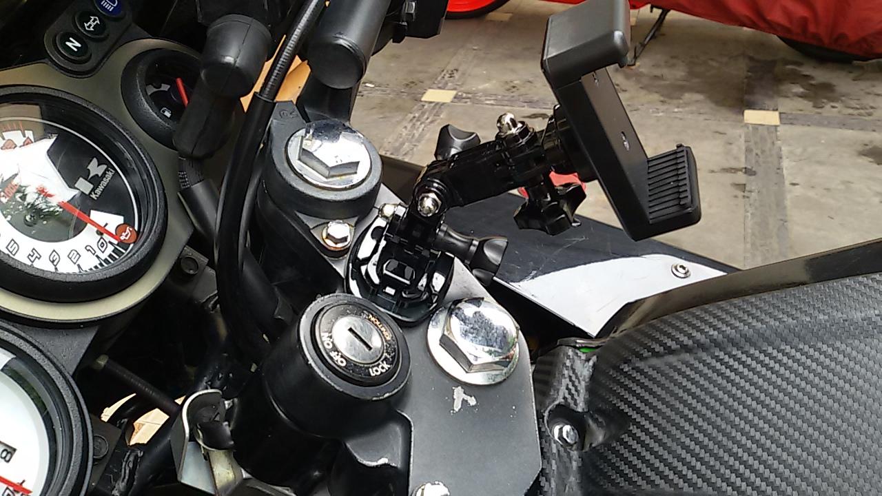 Pasang Gps Smartphones Di Ninja Rr 250 Menggunakan Breket Holder Hp Motor Smartphone