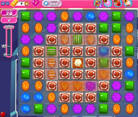 Candy Crush Saga 845