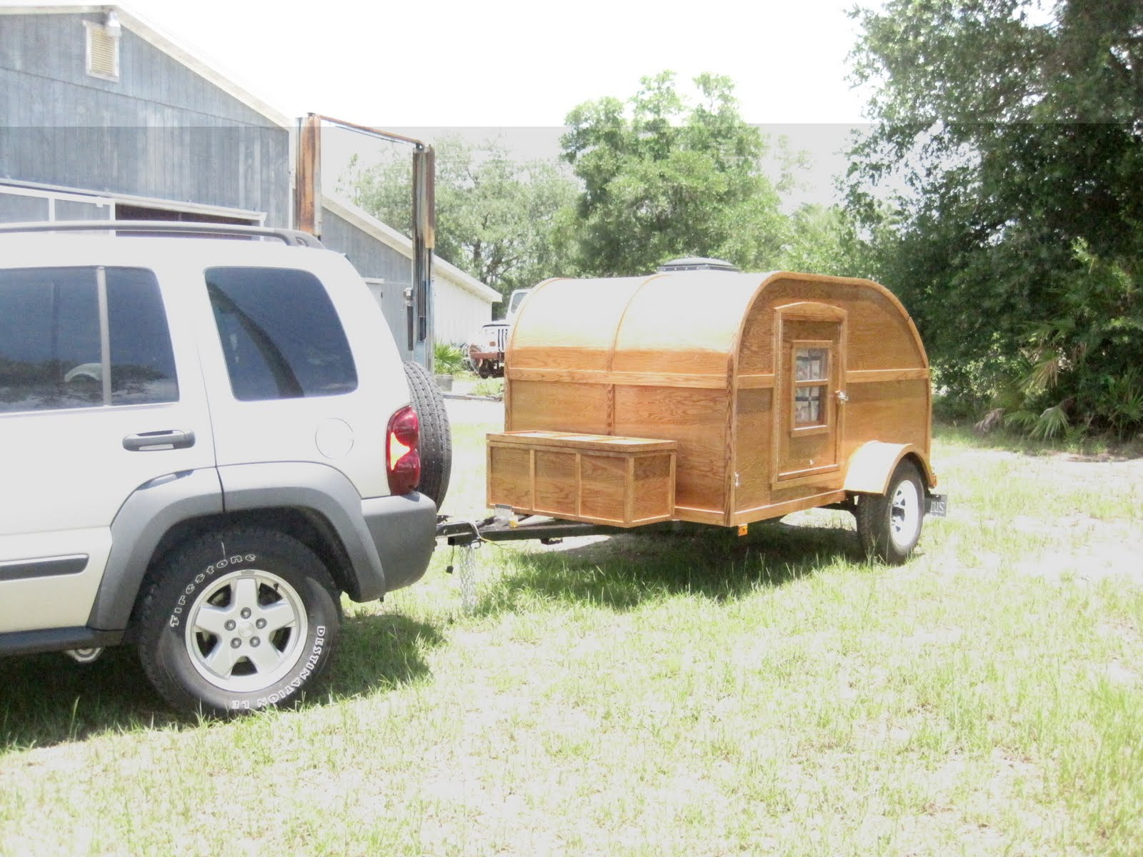 Teardrop (Tear Drop) Trailer - Florida (Building and Traveling with our Woodie Teardrop)