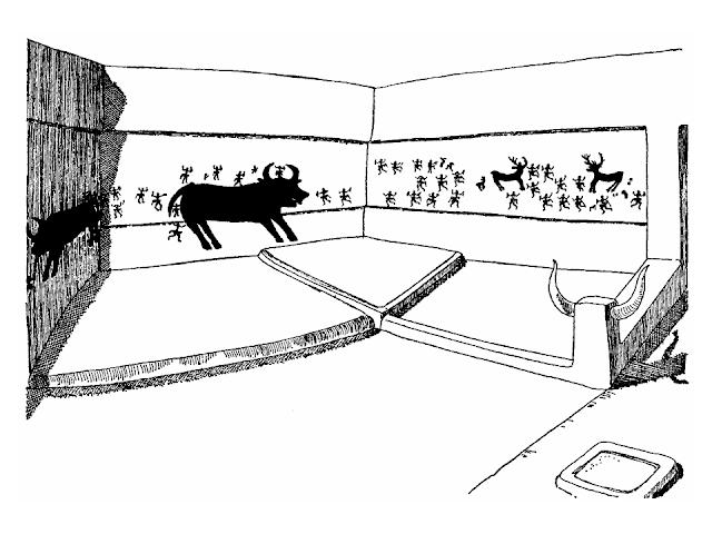 szoba rekonstrukciós rajz