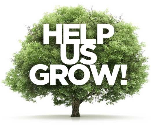 Help Us To Grow