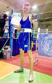 Trening, boks, Zielona Góra, sport, młodzież, bokserzy, ring, walka