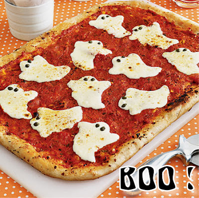 Halloween - pizza