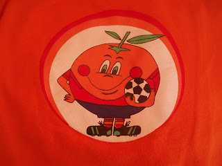 Naranjito, mascota de Espaa 1982