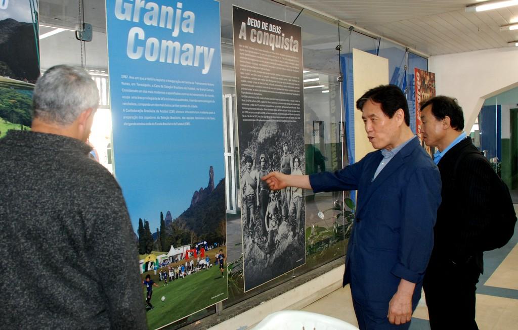 Comitiva desportiva da Coreia do Sul visita Teresópolis-Delegação de 400 pessoas poderá se hospedar na cidade para as Olimpíadas de 2016