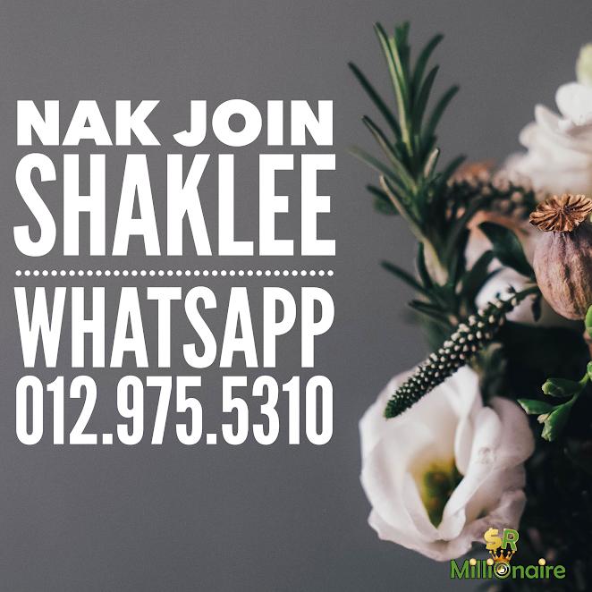 nak join shaklee?