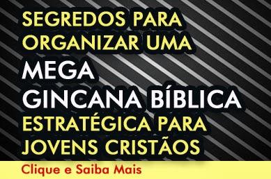 Mega Gincana Bíblica para Jovens