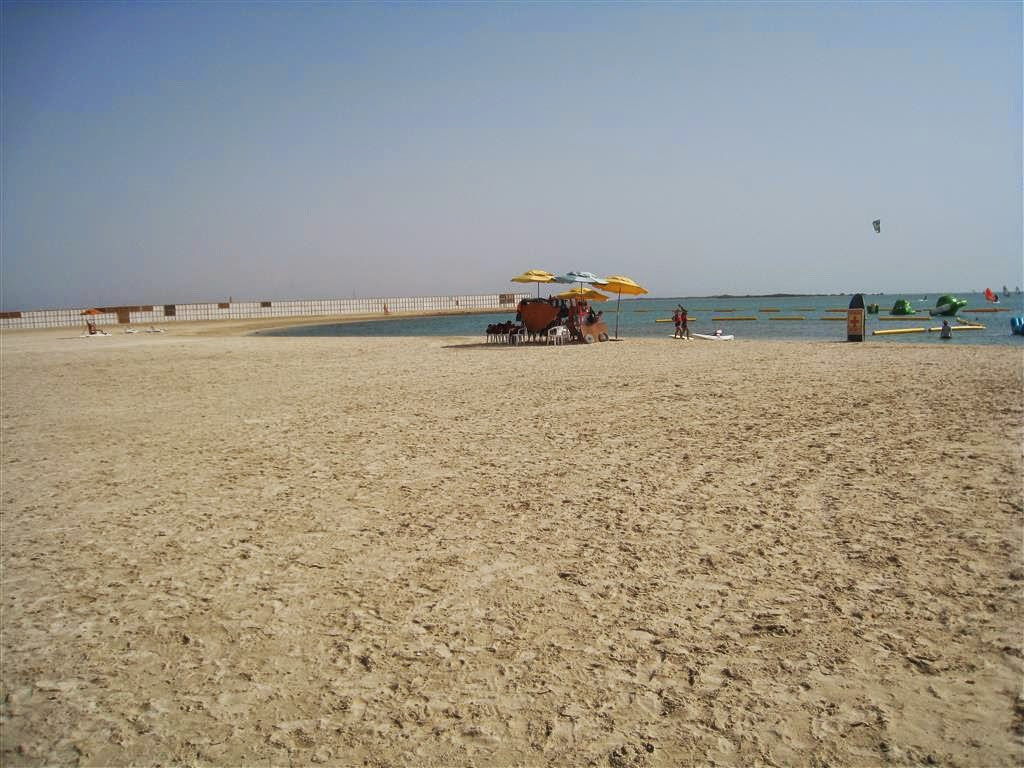 You See This Is A Western Beach In A Middle Eastern Country Where Things Such As Bikinis Etc Are Not To Be Seen But At Kaust Beach This Can Happen