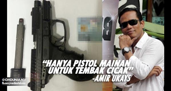 pistol amir ukays