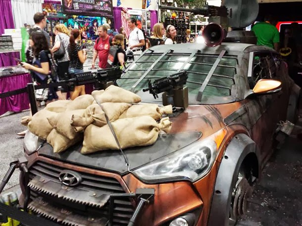 Walking Dead Hyundai Veloster Zombie Survival Car