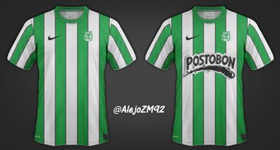 Nuevo Uniforme de Atlético Nacional 2013