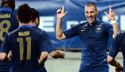 فيديو المنتخب الفرنسي يختتم استعداداته لليورو بالفوز على استونيا ب ظƒط±ظٹ%D