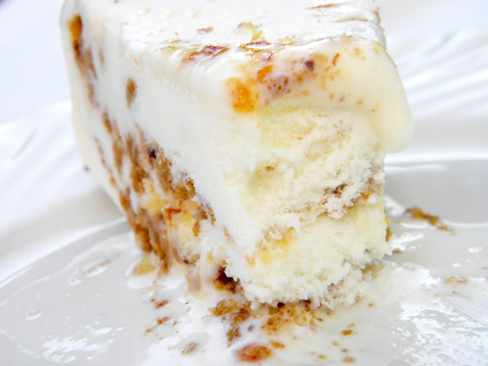 Praline Ice Cream Cake Recipe — Dishmaps