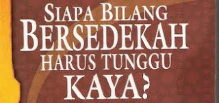 rahasia sedekah