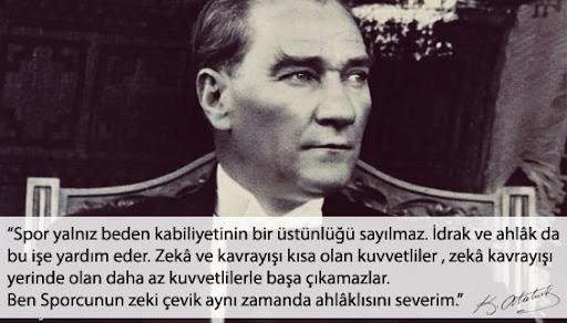 Atatürk ile Spor ve Sporcu Üzerine