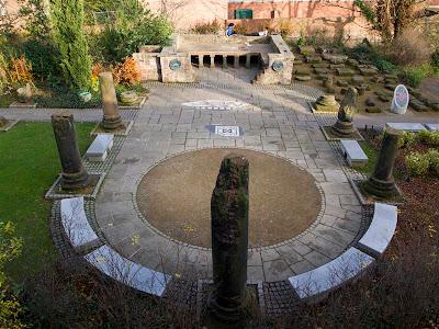 Jardínes romanos de Chester