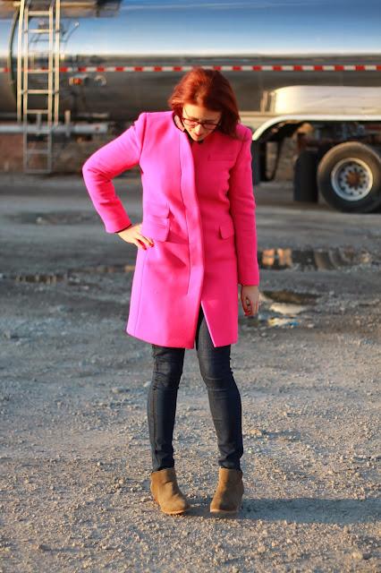 pink, j crew, coat