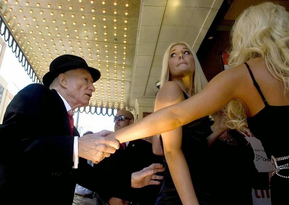 Основатель Playboy Хью Хефнер