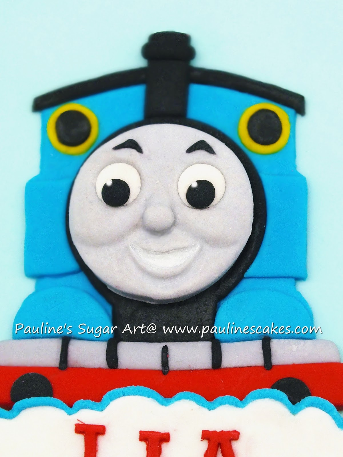 2D With 3D Effect Sugar Art Thomas The Engine