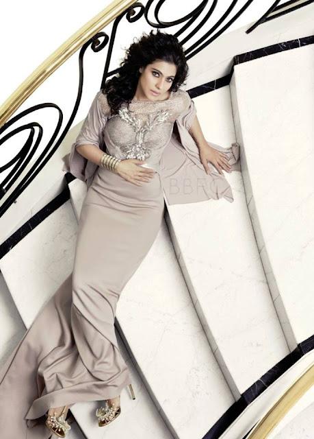 Kajol Devgan's Filmfare inside hot photo shoot gallery