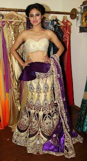 Mouni Roy  shoot rohit verma collection 5.JPG