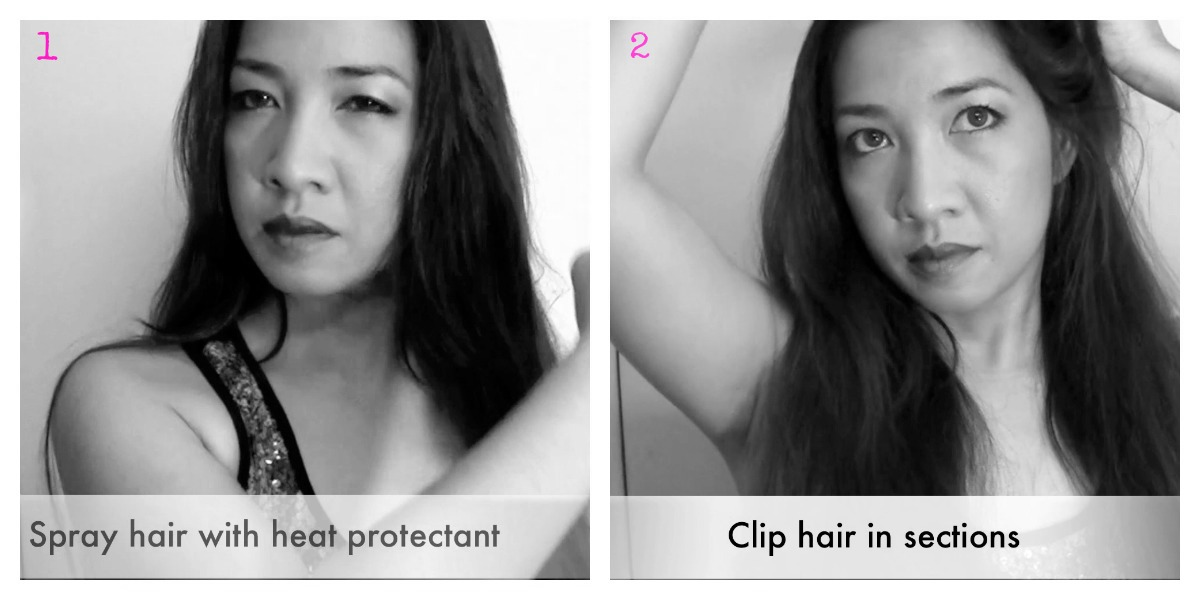 loose waves, celebrity waves, how to, tutorial, ghd review, kim kardashian hair tutorial