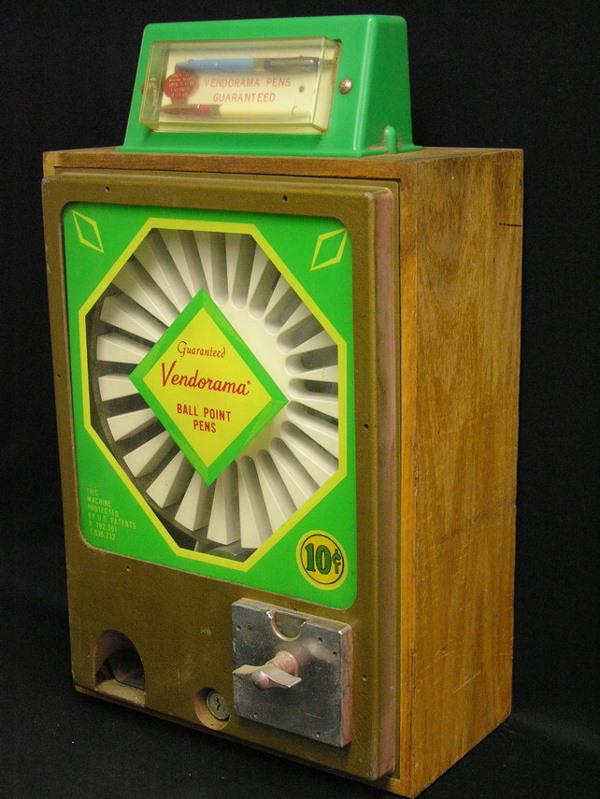 pen vending machine