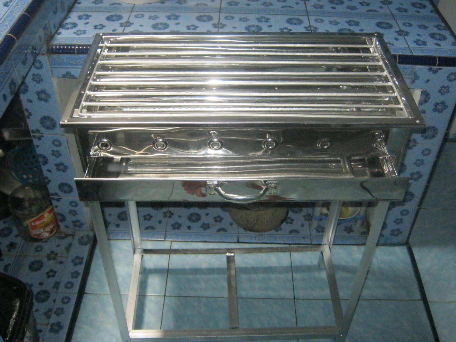 Panggangan Sate (Bahan Bakar Gas / Arang)