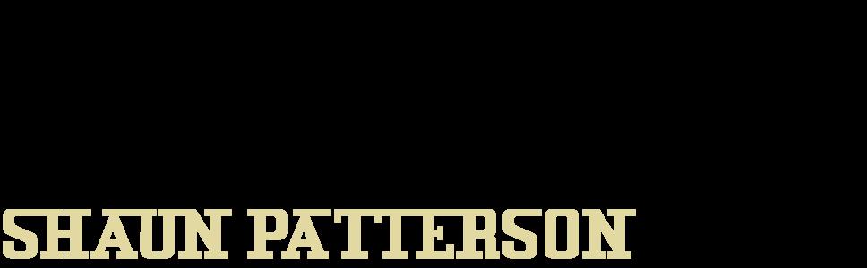 Shaun Patterson. Artist & Author