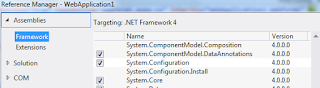 add System.Configuration reference2