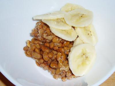 納豆にバナナ感覚