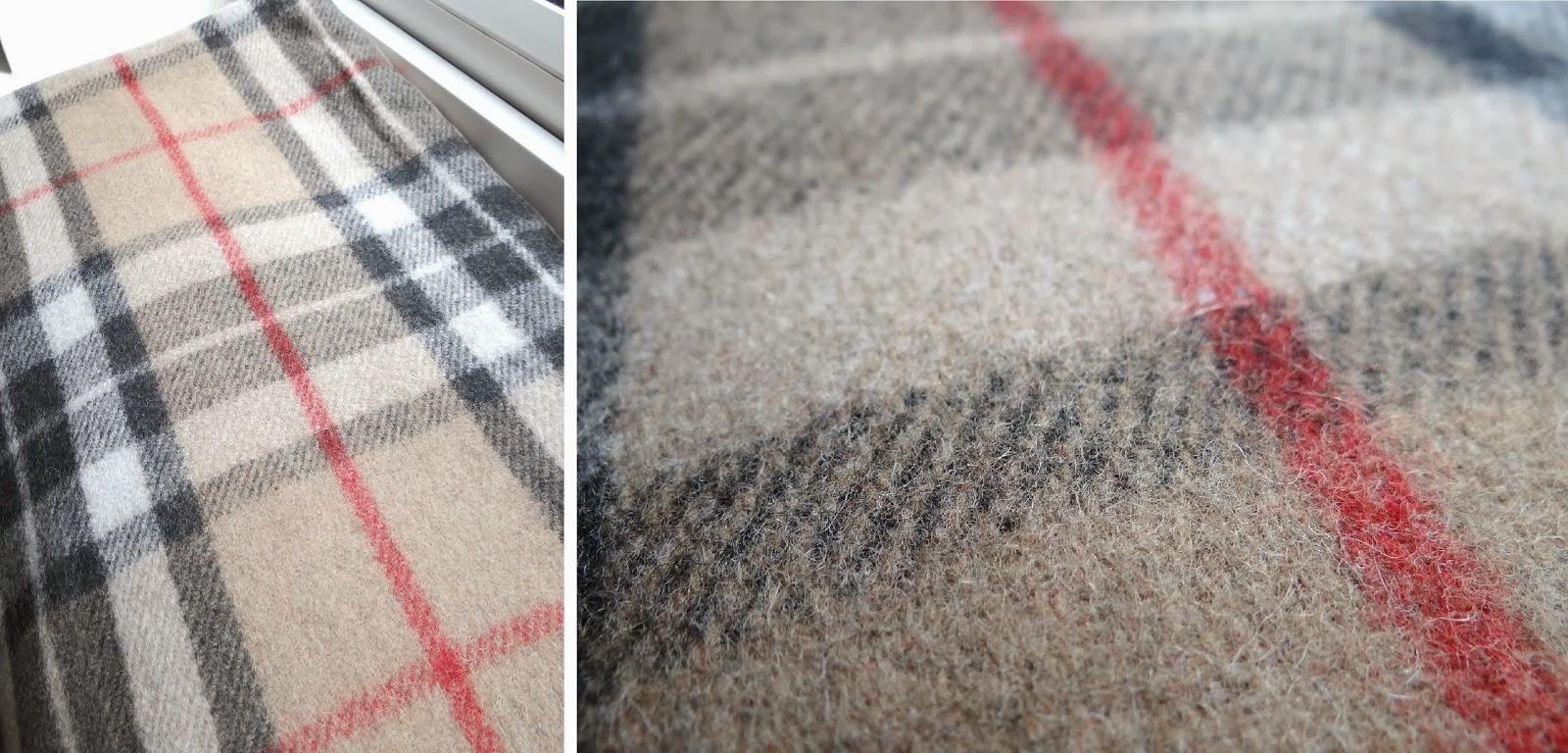 Scotland Tartan rugs, Scotland Souvenirs, Burberry Style
