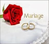 Préparation de mariage