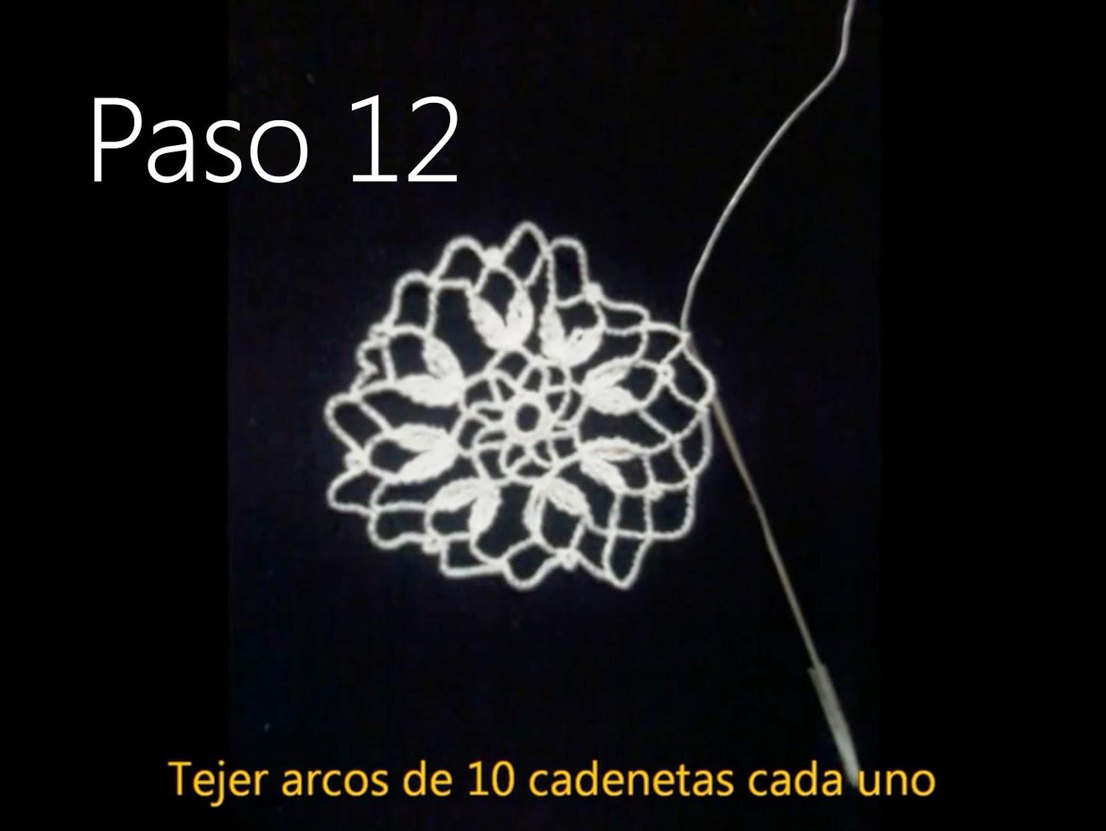 Tapete Flor Paso 12