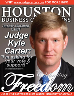 JUDGE KYLE CARTER IS SEEKING YOUR VOTE ON ELECTION DAY