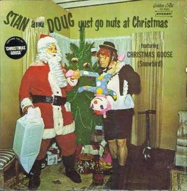 Vintage everyday a collection of 32 strange christmas album covers