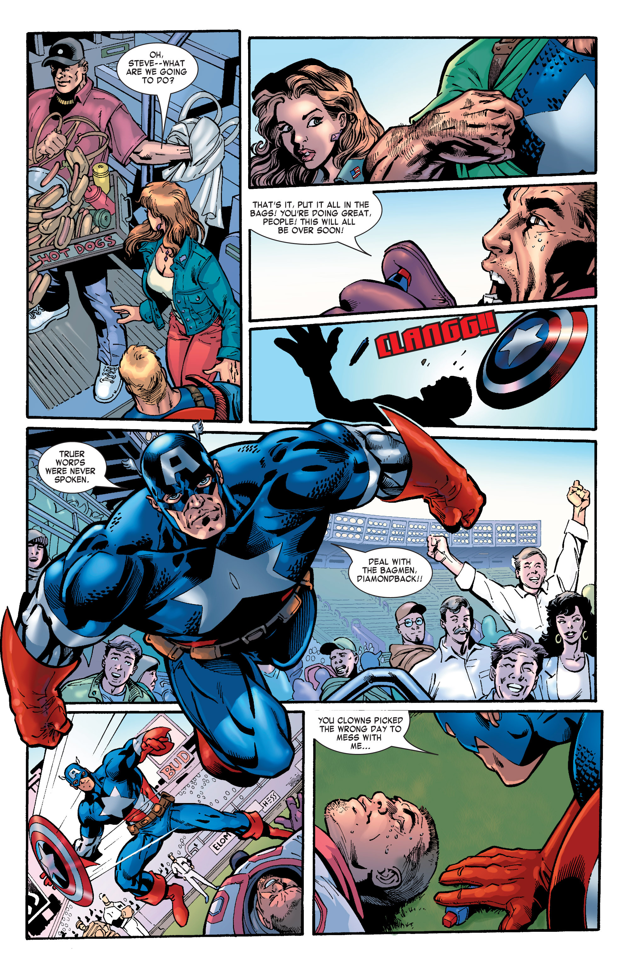 Captain America (2002) Issue #30 #31 - English 5