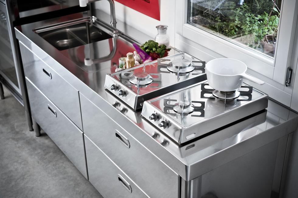 Placas de cocci n abatibles para sitios reducidos - Placa de cocina de gas ...