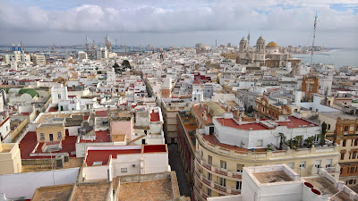 View from Torre Tavira