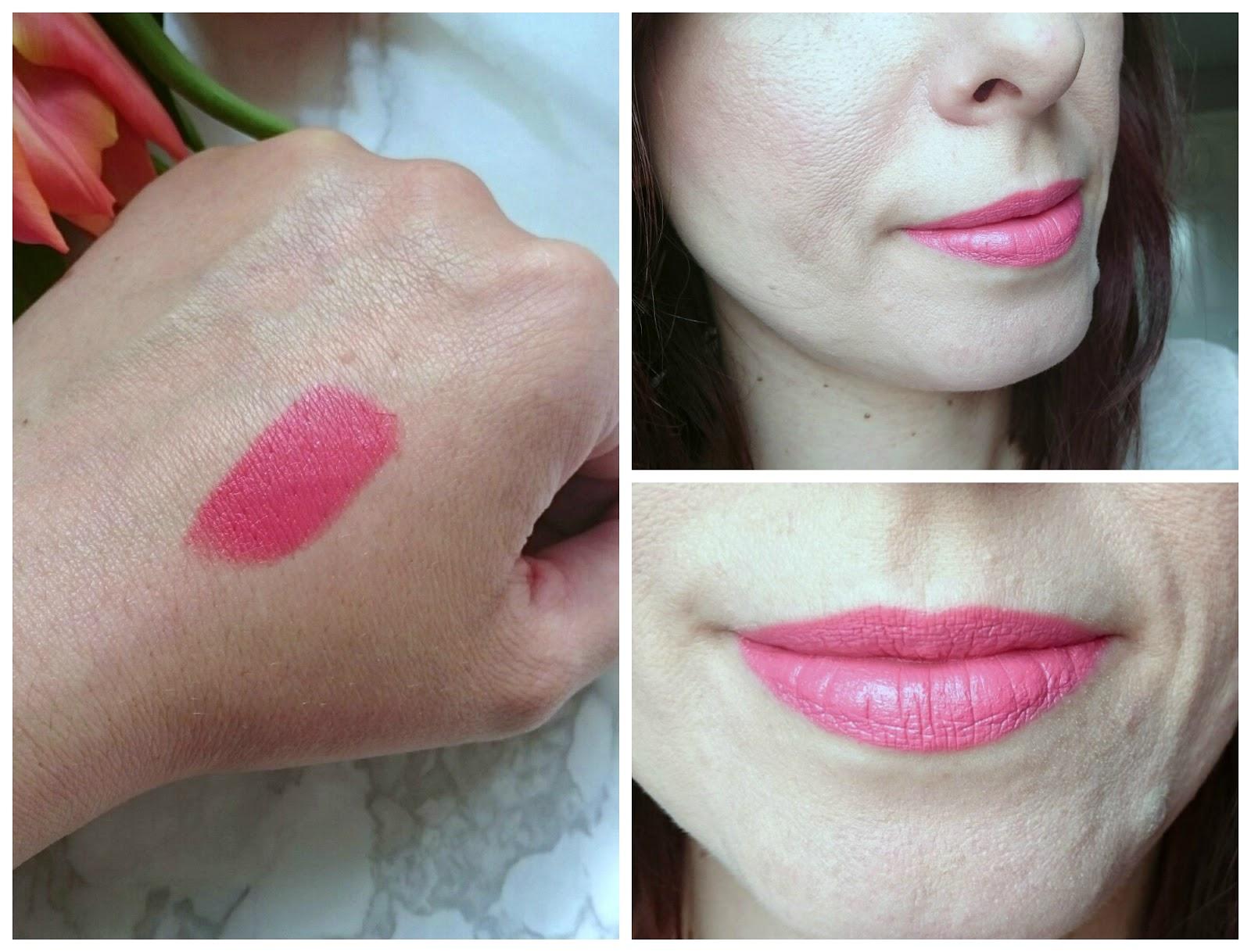 nars audacious lipstick natalie swatch